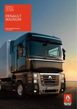brochure renault magnum