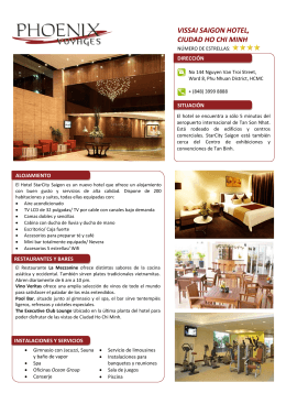 VISSAI SAIGON HOTEL, CIUDAD HO CHI MINH