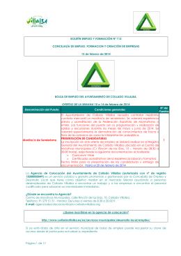 Boletín EyF nº 113 12-02-2014