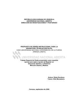 república bolivariana de venzuela universidad nacional abierta