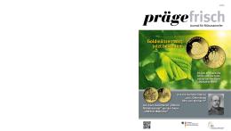 Prägefrisch 02/2015 - Verkaufsstelle für Sammlermünzen