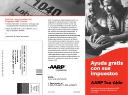 Ayuda gratis con sus impuestos