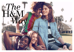 1 The H&M Way