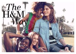 1 The H&M Way