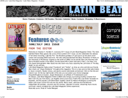LBMO.com - Latin Beat Magazine - Latin Music
