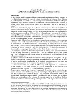 """La """"Revolución Pingüina"""" y el cambio cultural en Chile"""
