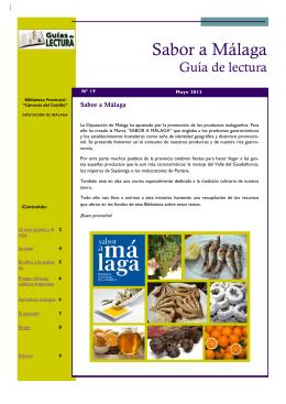 Sabor a MálagaI - Diputación de Málaga