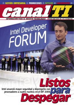 Intel anunció mayor seguridad y desempeño con procesadores a