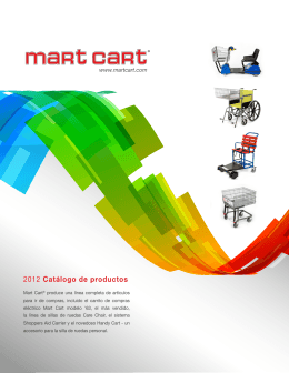 2012 Catálogo de productos