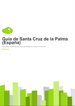 Guía de Santa Cruz de la Palma (España)