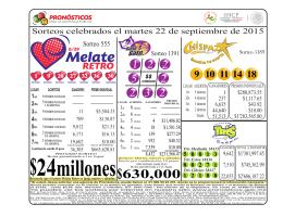 02 MELATE RETRO MARTES RESULTADOS 2015-09