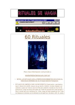 Rituales Brujeria y Magia