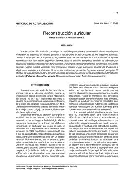 Reconstrucción auricular - Universidad Austral de Chile