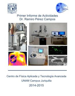Informe de Labores - cfata-unam