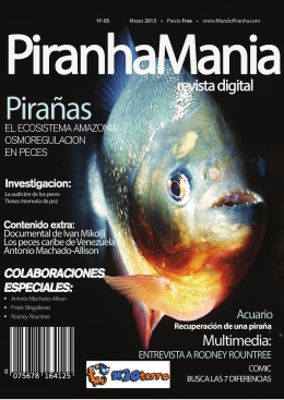 Revista PIRANHAMANIA 5