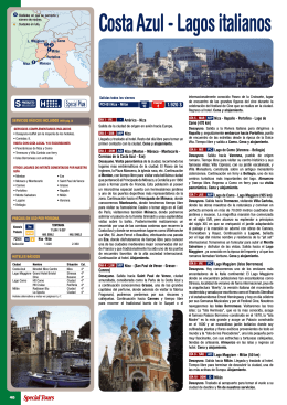 Costa Azul - Lagos italianos