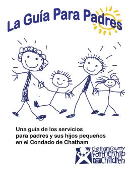 Una guía de los servicios para padres y sus hijos pequeños en el