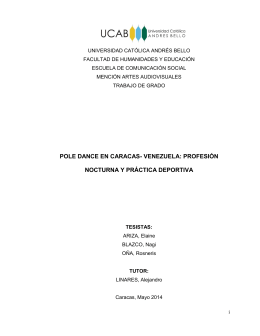 pole dance en caracas- venezuela