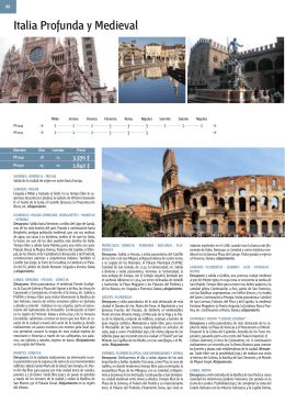 Italia Profunda y Medieval