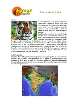 Fauna de la India