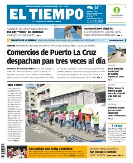 Comercios de Puerto La Cruz despachan pan tres veces