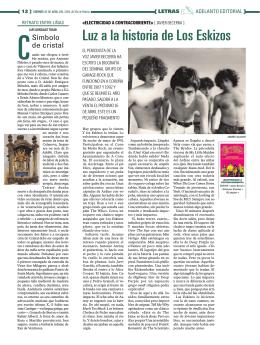 Adelanto editorial en La Voz de Galicia