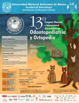 descarga poster - Facultad de Odontología