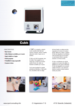 MS 6520 CUBIT spanisch