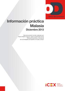 Información práctica, 2013