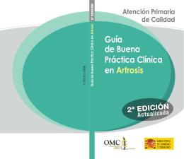 Guía de Buena Práctica Clínica en Artrosis