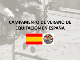 HORSE-RIDING SUMMER CAMP IN SPAIN