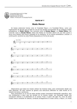 La escritura de la música - Introducción al Lenguaje Musical