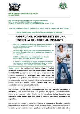 NDP_GIOCHIPREZIOSI_GUITARRA_PAPER JAMZ