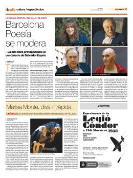Barcelona Poesía se modera