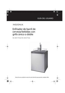 Enfriador de barril de cerveza/bebidas con grifo único o