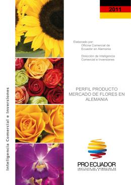 PERFIL PRODUCTO MERCADO DE FLORES EN
