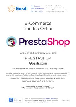 E-Commerce Tiendas Online