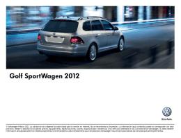 Golf SportWagen 2012 - Volkswagen de México