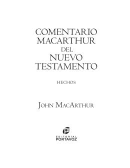 COMENTARIO MACARTHUR NUEVO