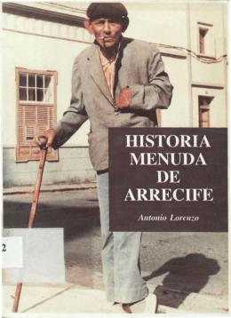 Historia Menuda de Arrecife - Memoria Digital de Lanzarote