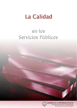 La Calidad en los Servicios Publicos.cdr