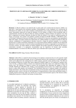 propuesta de una reparación sobre placas de fibra de carbono