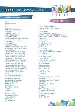 Download... - International Cruise Summit 2015