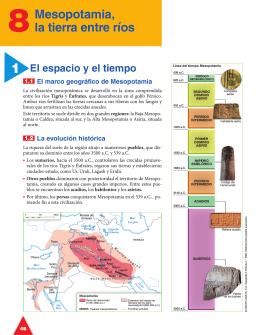 ema: 8: Mesopotamia, tierra entre ríos
