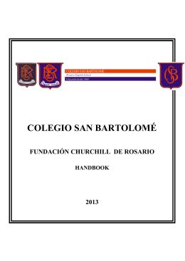 COLEGIO SAN BARTOLOMÉ - Colegio San Bartolome