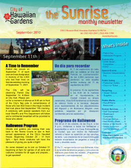 What`s Inside - City of Hawaiian Gardens