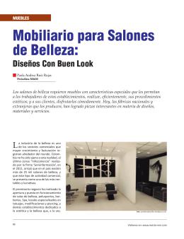 Muebles - Revista El Mueble y La Madera