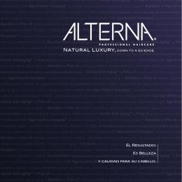 ALTERNA - Brochure ES Spanish