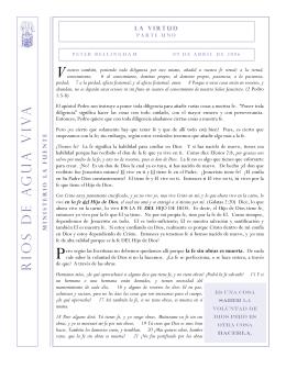 La Virtud - ministeriolafuente.org