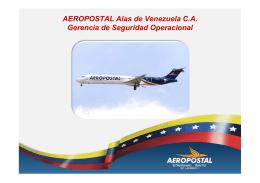 Implantación del SMS en Aeropostal alas de Venezuela
